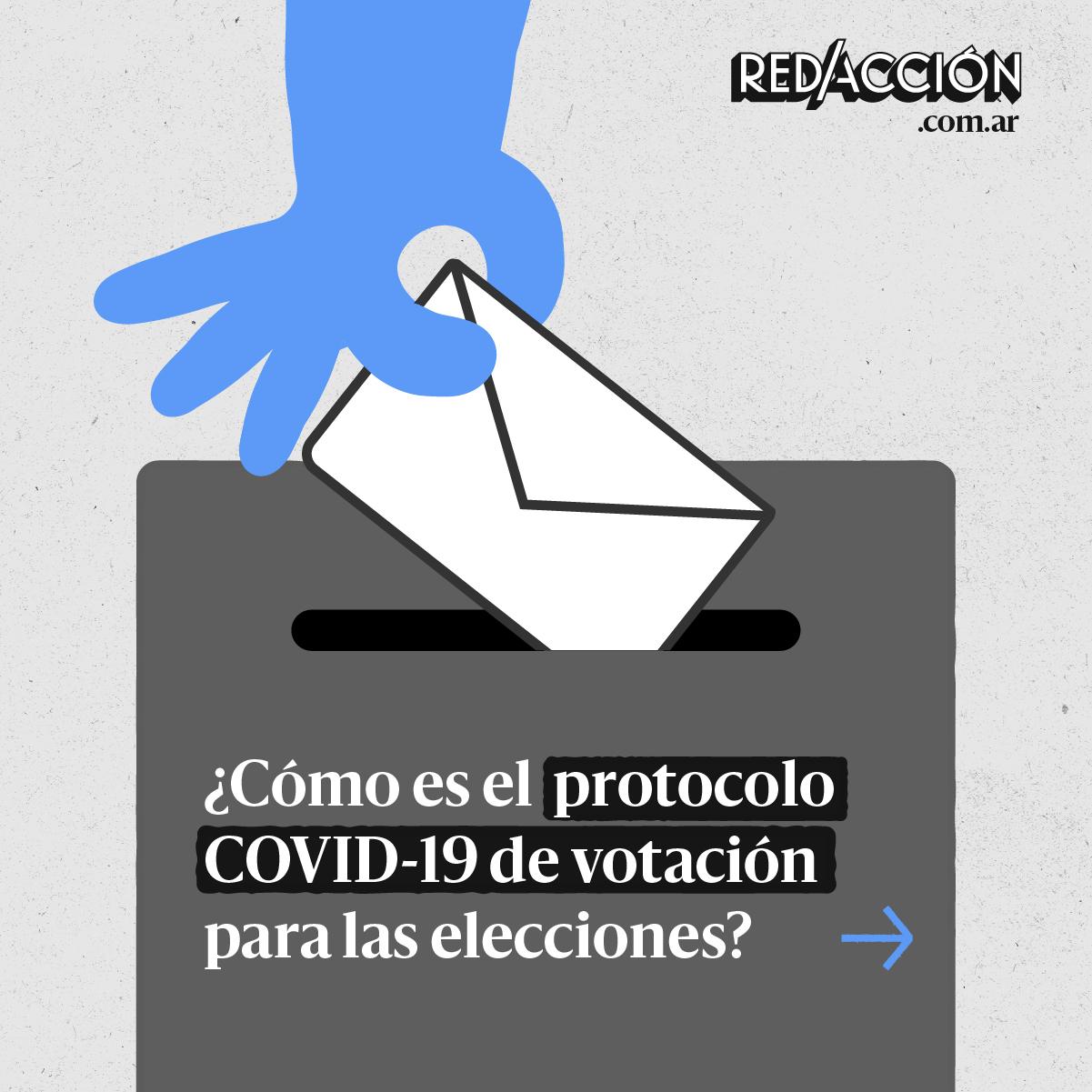 ¿Cómo es el protocolo COVID-19 de votación para las elecciones?