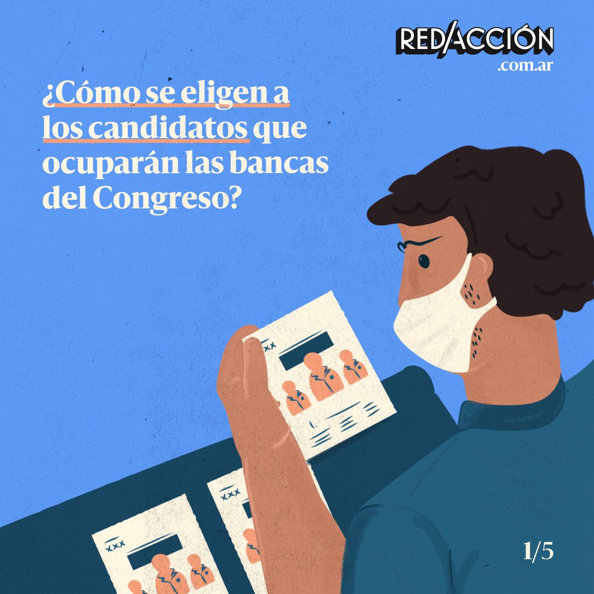 ¿Cómo se eligen a las y los candidatos que ocuparán las bancas del Congreso?