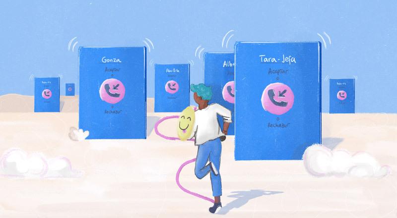 Ansiedad por una llamada: por qué los jóvenes prefieren cada vez más chats, audios o emojis y evitan hablar por teléfono
