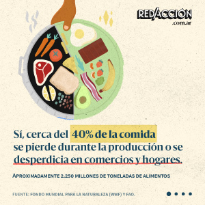 El 40% de la comida se pierde o se desperdicia: 5 consejos para ser un consumidor responsable