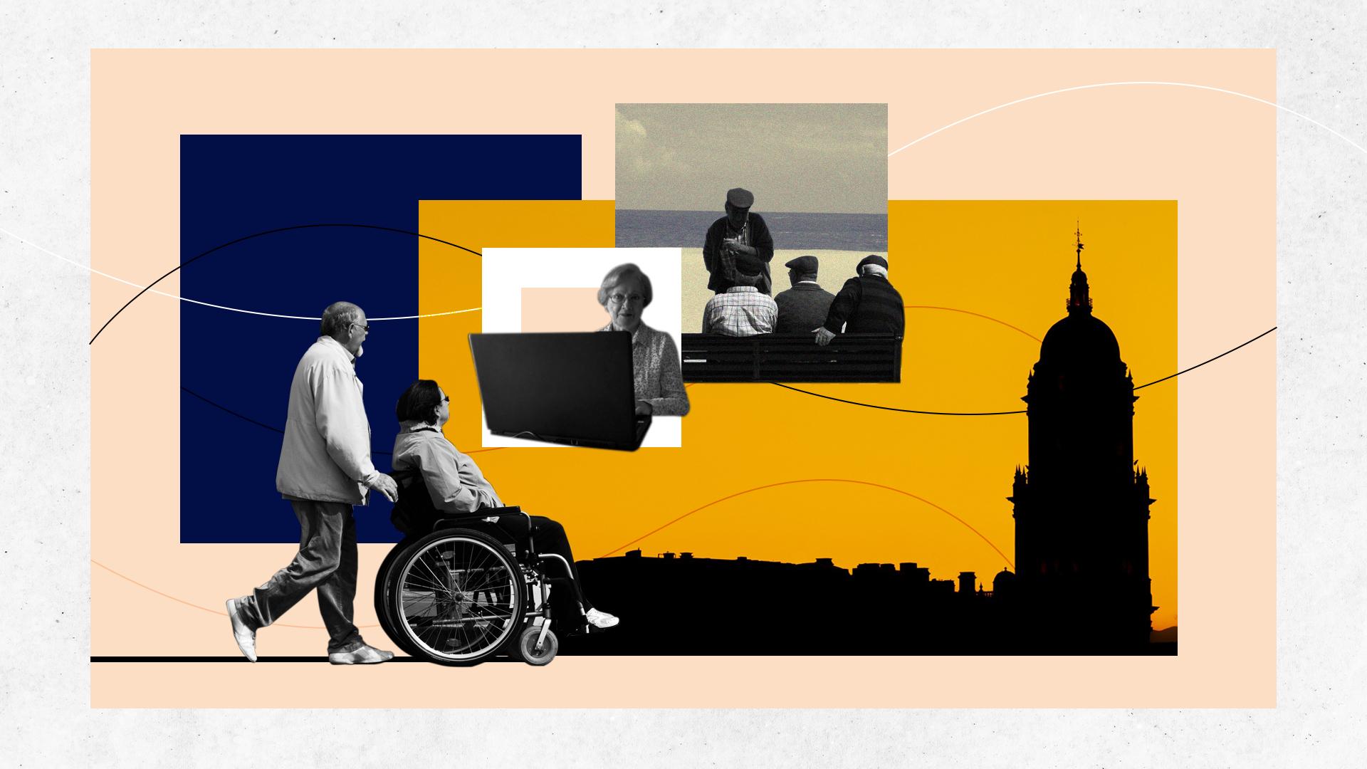 Cómo se adaptan las ciudades a una población con cada vez más personas mayores