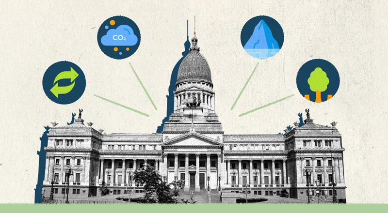 Elecciones legislativas: ¿cómo votaron los partidos políticos las principales leyes ambientales?