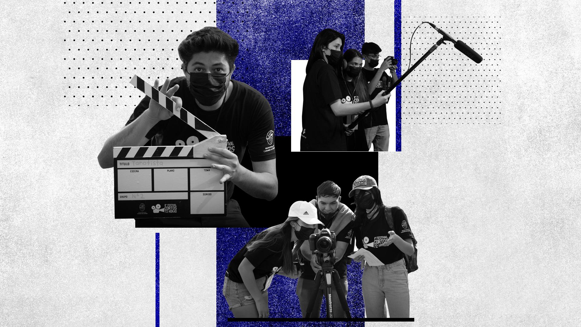 En un proyecto educativo con diez años de historia, más de 300 adolescentes transforman una ciudad en un set audiovisual
